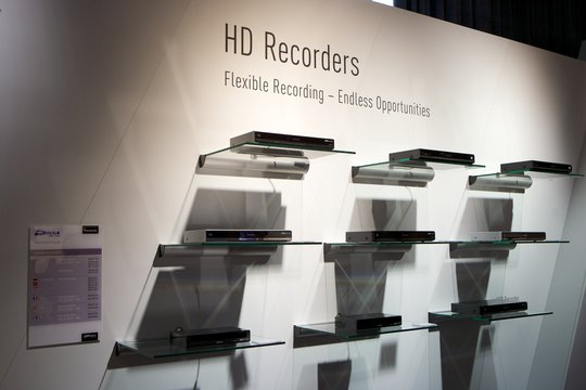 Breites Sortiment an Hard-Disk und Blu-ray-Recordern