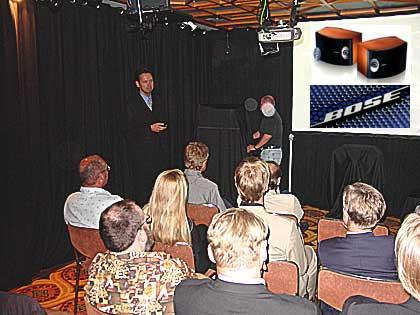bose zeigte neuheiten in m nchen bose news 2003. Black Bedroom Furniture Sets. Home Design Ideas