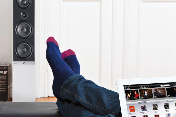 raumfeld von teufel mit wimp hifi kabellos im ganzen haus. Black Bedroom Furniture Sets. Home Design Ideas