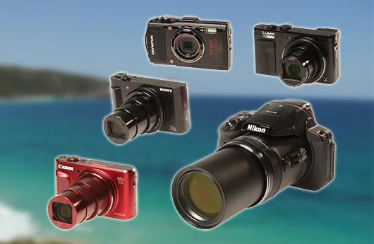 worauf achten test von f nf fotokameras f r reise und ferien. Black Bedroom Furniture Sets. Home Design Ideas