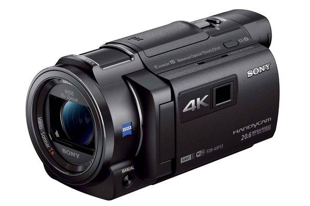 test sony 4k camcorder fdr axp33 kino immer dabei. Black Bedroom Furniture Sets. Home Design Ideas